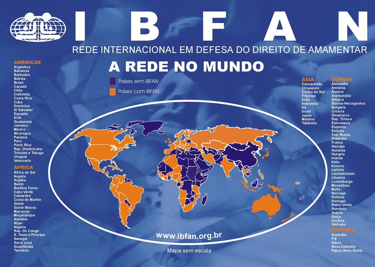 Mapa Mundi IBFAN