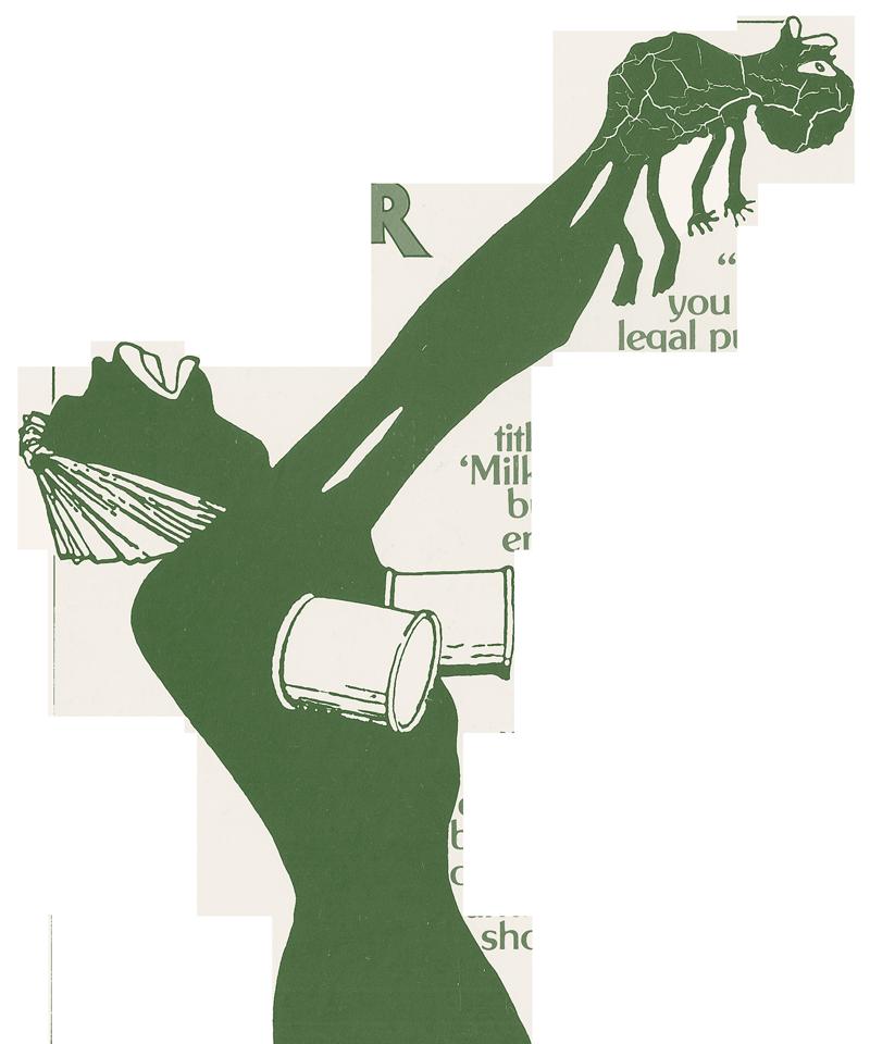 Caricatura Conrad - Milk and Murder
