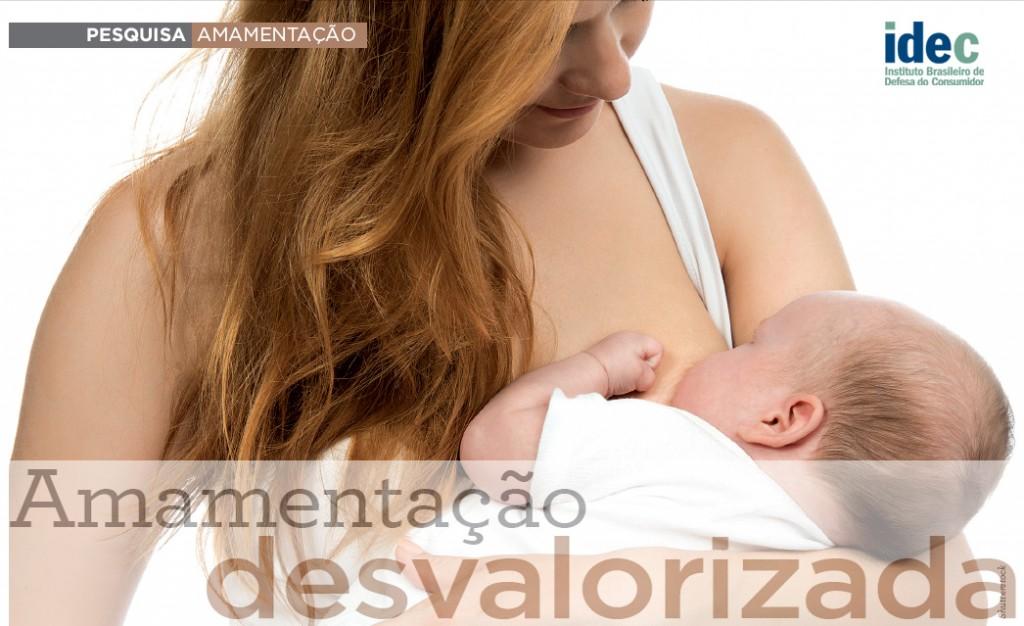 Amamentação desvalorizada – Monitoramento 2014