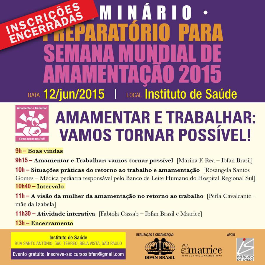 2015 06 12 Seminario Preparatorio SMAM completo encerradas