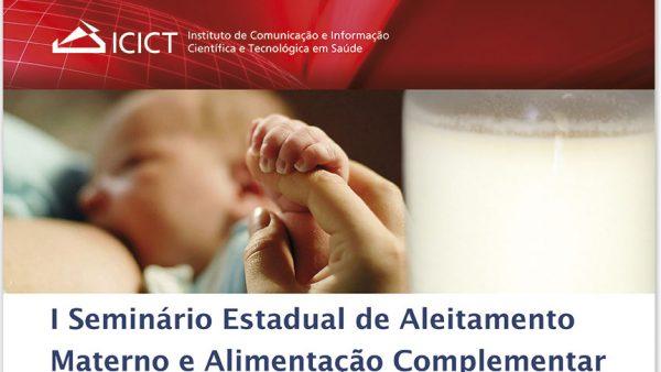 Icict sedia seminário estadual sobre aleitamento materno e alimentação complementar