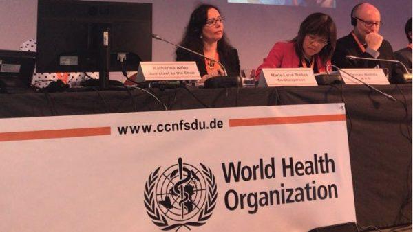 Em Berlim, IBFAN participa de reunião do Codex Alimentarius