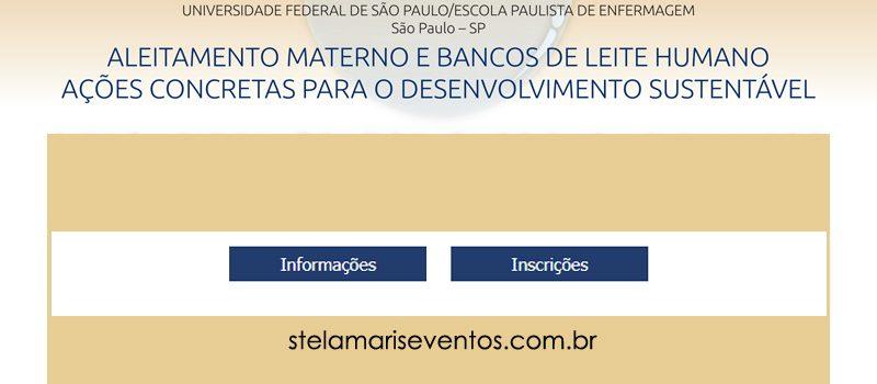 Inscrições abertas para o V Congresso Paulista de Bancos de Leite Humano