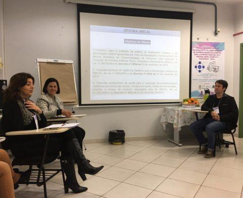 Oficina capacita profissionais para monitorar norma que regulamenta venda de chupetas e alimentos para lactentes