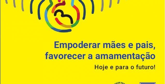 """SMAM 2019 – """"Empoderar mães e pais, favorecer a amamentação. Hoje e para o futuro!"""""""