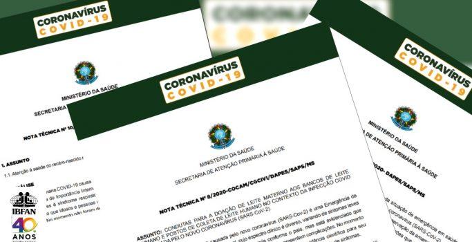 COVID-19 E ALEITAMENTO MATERNO: ORIENTAÇÕES DO MINISTÉRIO DA SAÚDE