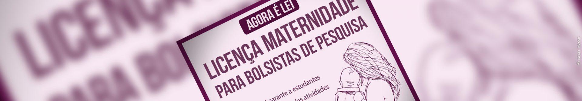 Sancionada lei que dá direito a afastamento por maternidade para bolsistas de pesquisa
