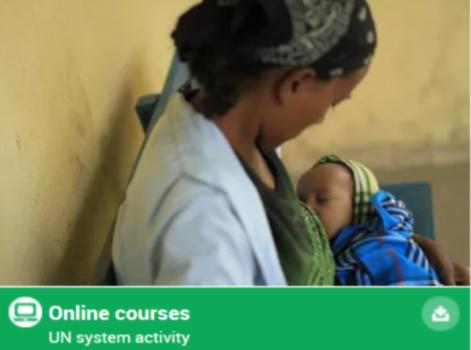 Novo curso da OMS/UNICEF sobre o Código Internacional de Comercialização de Substitutos do Leite Materno